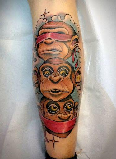Os três macacos sábios
