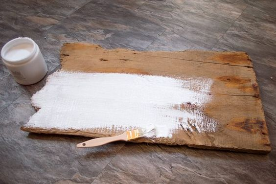 How to Use Acrylic Paint on Wood (with Pictures)   eHow