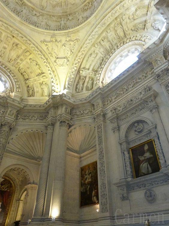 La Sacristie Principale de la  Cathédrale de Santa Maria du Siège de Séville