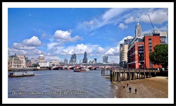 The Thames and The OXO Building