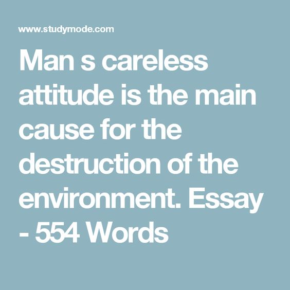 environment and man essay Free essays on man is a product of his environment get help with your writing 1 through 30.