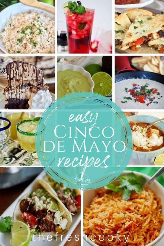 Cinco de Mayo Recipe Collection • The Fresh Cooky