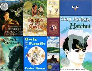 Outdoor and nature books for intermediate readers from outsidemom.com