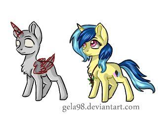 YCH Chibi Pony by Gela98.deviantart.com on @DeviantArt