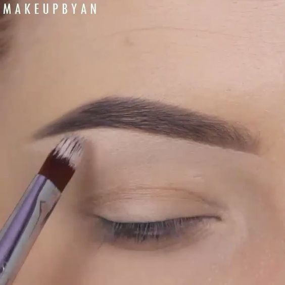 Flawless eyebrows  @makeupbyan