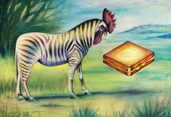 zebracock wants grilled cheese: Artsy Baby, Elusive Zebrachicken, Funny Pictures, Grilled Cheese Sandwiches, Artsy Fartsy, Roosterzebra Staring, Artsy Crafty, Animal Artsy, Contemplating Grilled