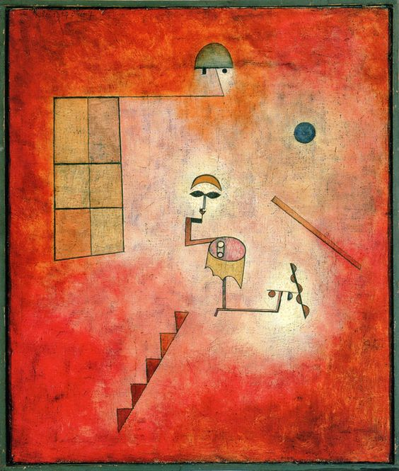 catmota: Conjuring Trick (1927) Paul Klee prints by this artist