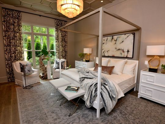 Legend Homes Master Bedroom Has A 12 Foot Ceiling Home Luxury House Designs Parade Of Homes