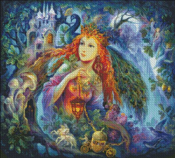 Faery 2 [STRELKINA121] - $19.00 : Heaven And Earth Designs, cross stitch, cross stitch patterns, counted cross stitch, christmas stockings, counted cross stitch chart, counted cross stitch designs, cross stitching, patterns, cross stitch art, cross stitch books, how to cross stitch, cross stitch needlework, cross stitch websites, cross stitch crafts