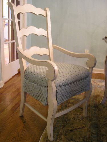 Upholstered Skirted DR Chair