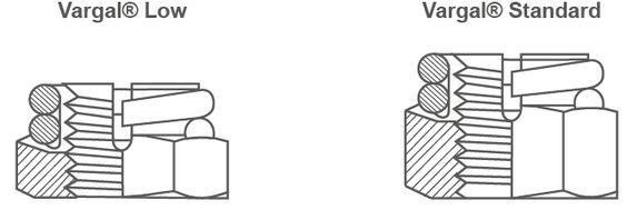 VARGAL - Sicherungsmutter in zwei Ausführungen