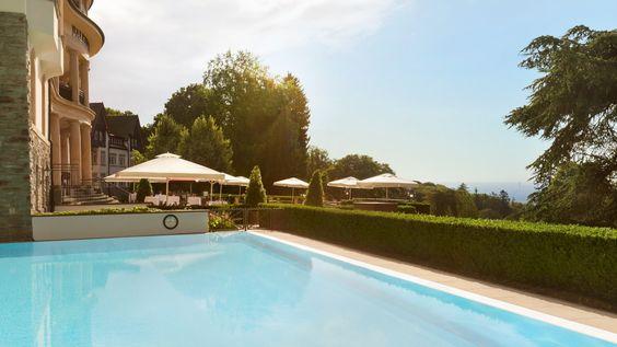 Pool & Skyline View | Falkenstein Grand Kempinski