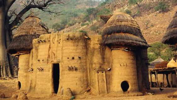 The traditional Takienta tower-houses in Togo are remarkable and they are a prideful part of their lives.: