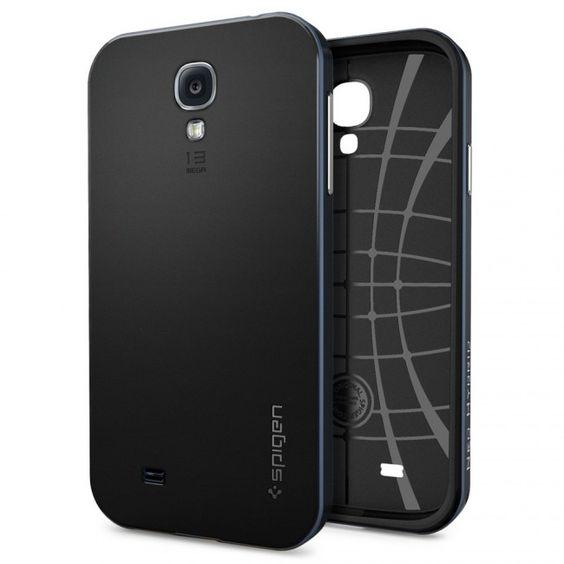 Capa Para Samsung Galaxy S4 Neo Hybrid Original Spigen. R$129,99