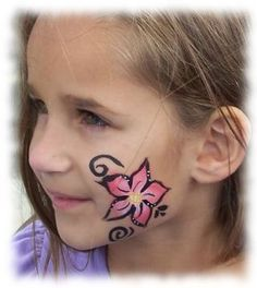 easy kids face paint - Google Search