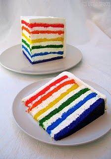 Super Epic Rainbow Cake