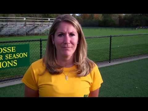 ▶Post Game interview with Siena Head Coach Kara Zappone.  Bryant 3, Siena Field Hockey 2 (OT)