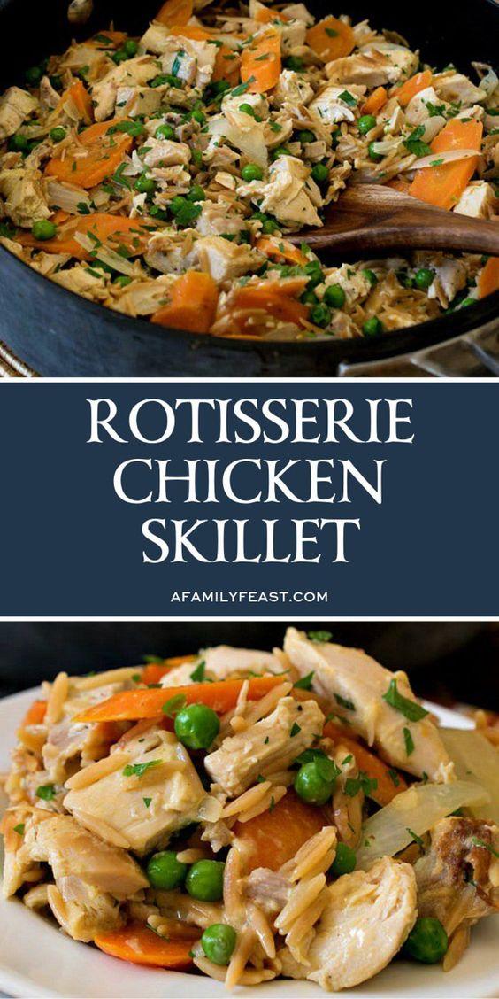 Rotisserie Chicken Skillet