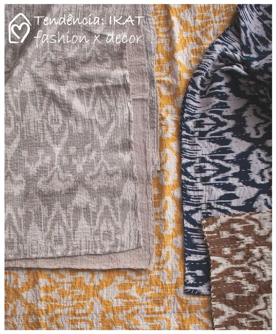 Ikat: fashion x decor