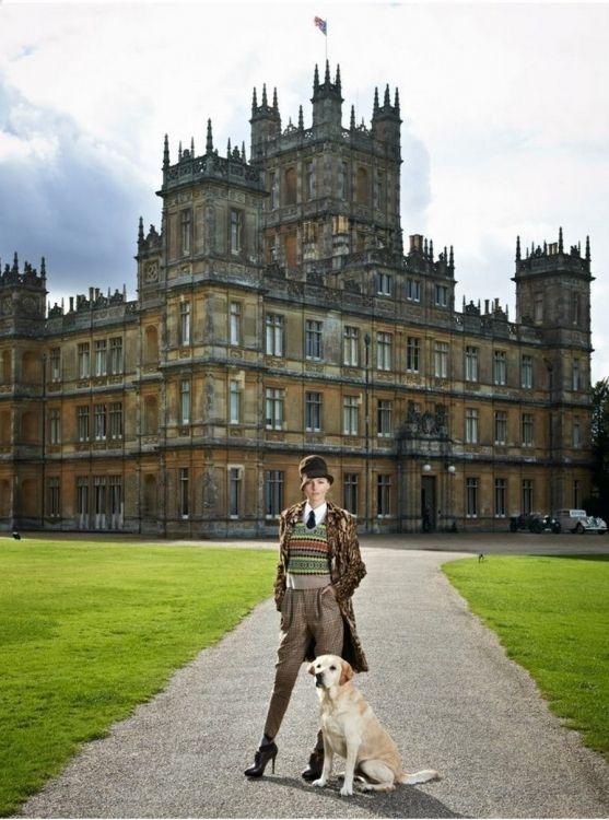 Photo Coverage: Ralph Lauren Runway Show at Downton Abbey Hi-Res Photo Gallery (fashion.broadwayworld.com)