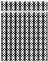 Short Needlecase Graph Paper at Sova-Enterprises.com ~ I love the fact that they include the graph for the needle case