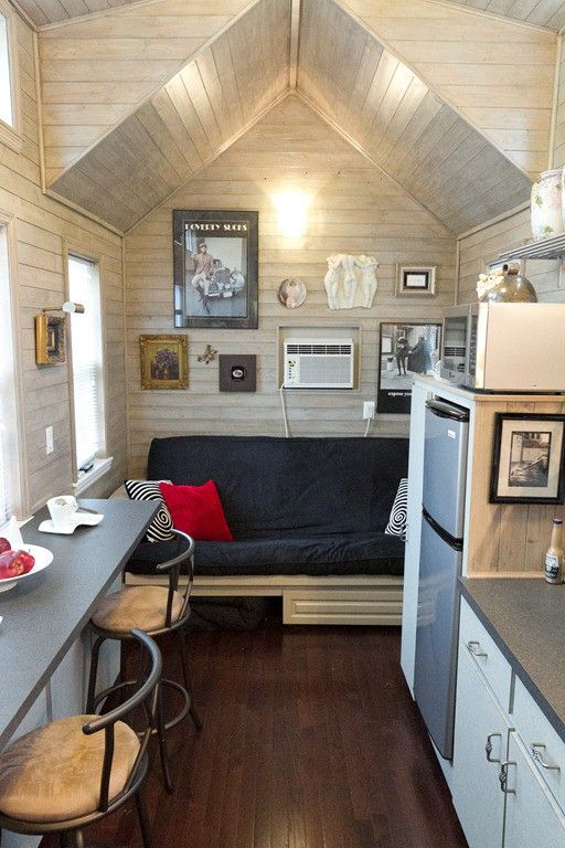 tiny house inside Houses Inside and Out Pinterest Cute