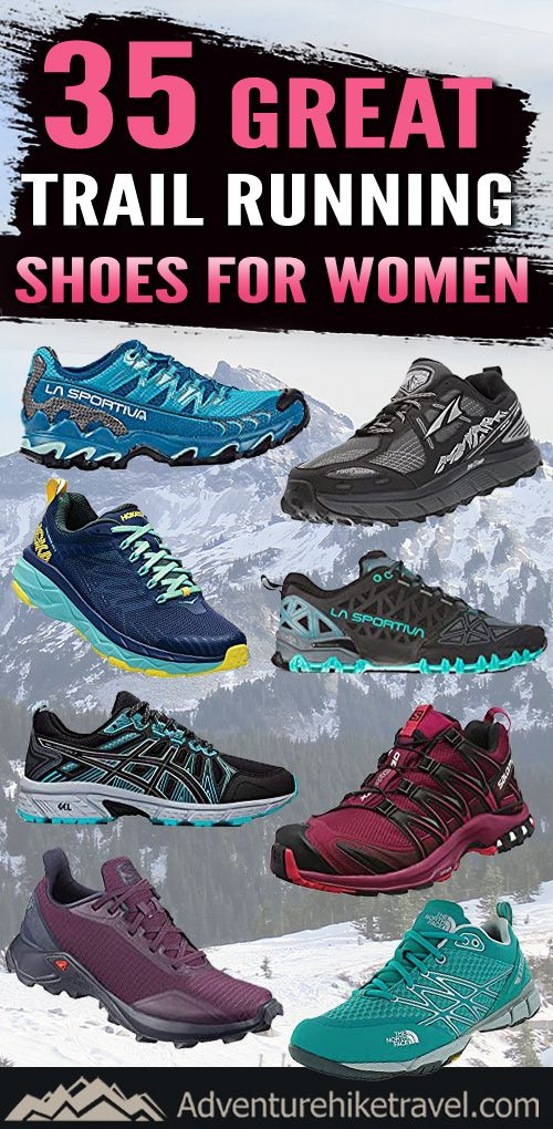 Running shoes, Trail running shoes