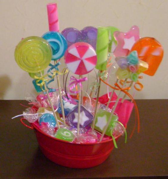 Como hacer jabones de glicerina para baby shower fiestas - Como hacer esencias para jabones ...