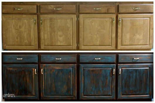 Image Result For Painting Over White Washed Oak Cabinets
