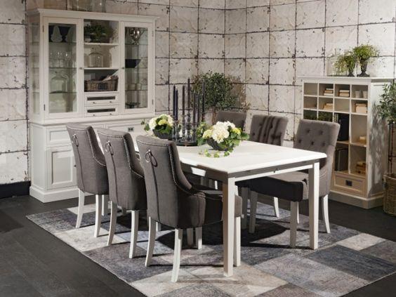 Spisebord m/6 stoler   rowico ab   koster   møbelringen ...