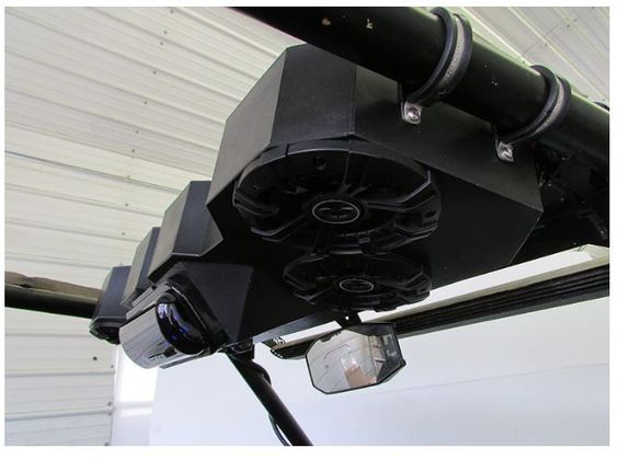 Polaris Rzr Razor 1000 2015 900 Overhead Stereo Radio Utv 4s4kicker In 2020 Rzr Polaris Rzr Accessories Polaris Rzr