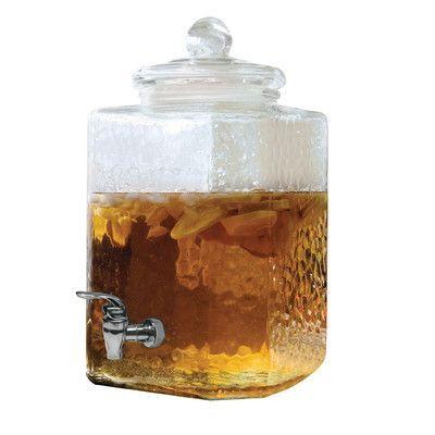 Circle Glass Shangri La 320 Oz. Beverage Dispenser