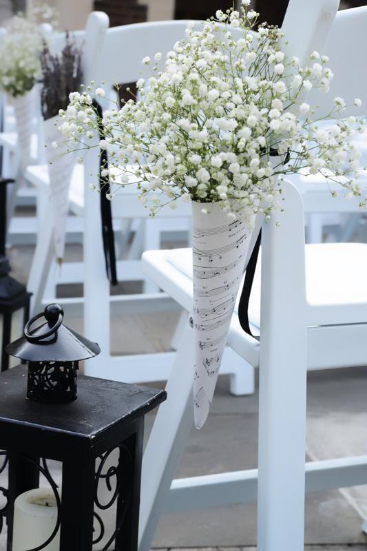 Notes wedding isle decor @Lacy Beckstrom Beckstrom Beckstrom Beckstrom Beckstrom…