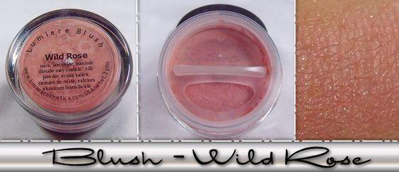 Lumiere Mineral Cosmetics, Blush