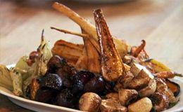 Acompanhamento para a ceia de Natal: legumes assados de Jamie Oliver - Receitas - Receitas GNT