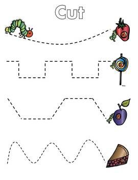 Hungry Caterpillar Activity Packet | Out 1, Math pages and Colors