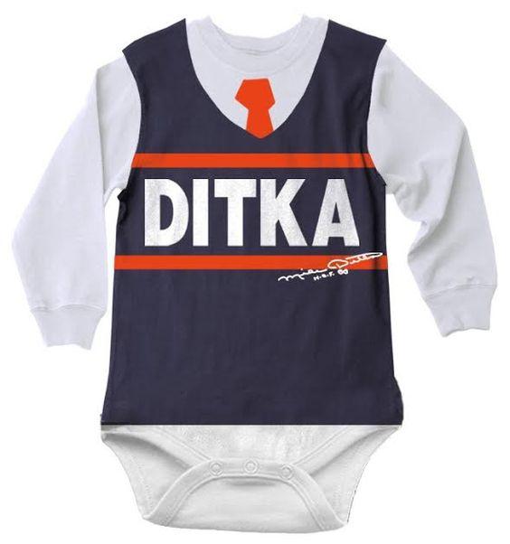 Ditka Kids Da Vest Long Sleeved Onesie