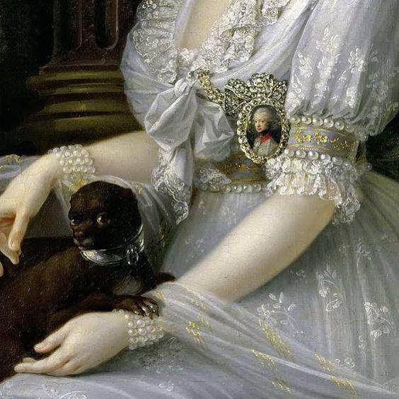 #josephdorffmeister #dorffmeister #luisamariaameliateresa #princessofnaplesandsicily #1797 #kunsthistorischesmuseum