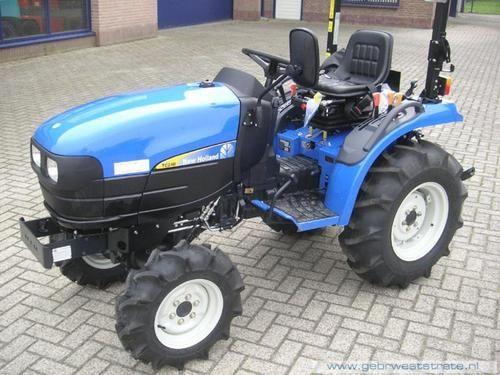 New Holland Tc21d Tc24d Tractor Operators Pdf Manual New Holland Tractors Compact Tractors