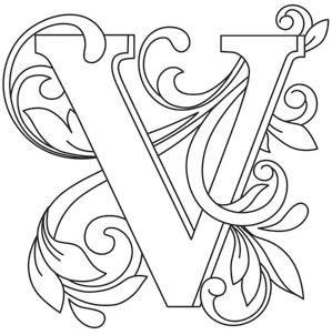 Letter Perfect - Letter V_image