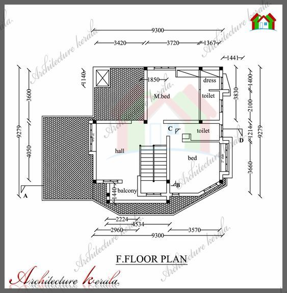 1800 Sq Ft House Plan With Detail Dimensions House Plans Four