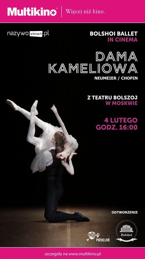 Dama Kameliowa - Teatr Balszoj - Multikino