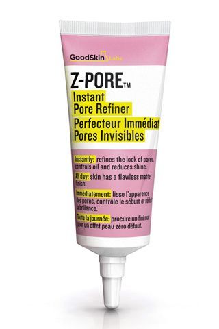 Z-Pore, de Goodskin Labs      Reduce los poros dilatados de manera instantánea con esta solución a base de polvos matificantes minerales, siliconas, vitamina E y polvo de lisina de laurel que minimiza su apariencia. Permanece todo el día y resiste a la humedad, al sudor y al agua. Se vende en exclusiva en Perfumerías Douglas.     Precio: 24,95 €