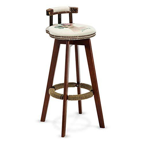 Bseack Bar Stool Swivel Barstools For Kitchen Wooden Bar Stools