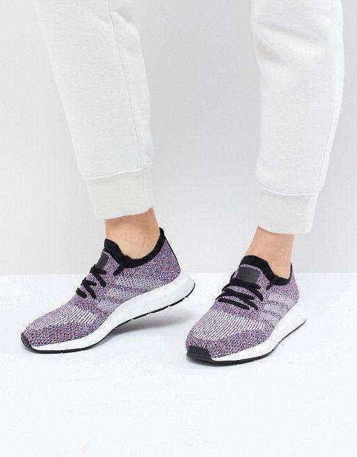 adidas Originals Swift Run Primeknit Sneakers In Multi