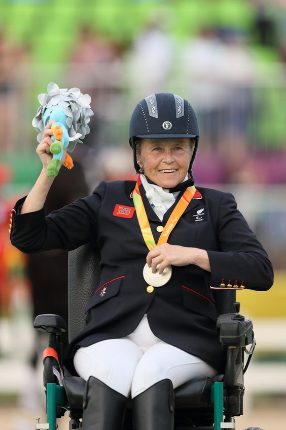 MS in the medals   Well done to Kadeena Cox and the rest of the paralympicT35-38 relay team (Kadeena Cox Maria Lyle Georgina Hermitage and Sophie Hahn) who won 4x100m relay silver  Also well done to Anne Dunham who won Silver in the equestrian as part of a GB one-two  Paralympics