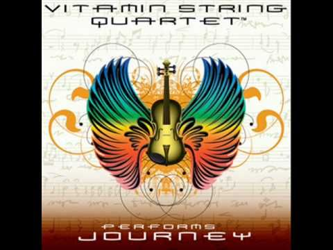 VSQ covers Journey, Don't Stop Believing. // I have a new musical love. Vitamin String Quartet, FTW!