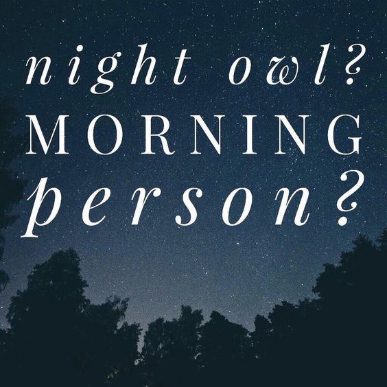 So tell me......Are you a night owl of a morning person? I am a night owl. A snooze button pusher. For a chance to win some LuLaCash share with me! https://www.facebook.com/groups/552387354939628/