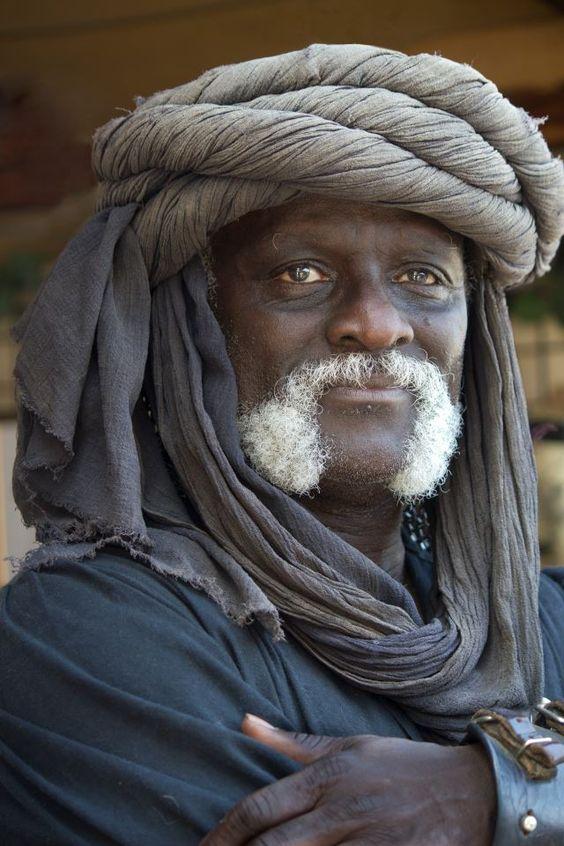 Tuareg man, Africa