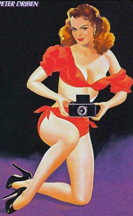 *m. Peter Driben Pin Up artist